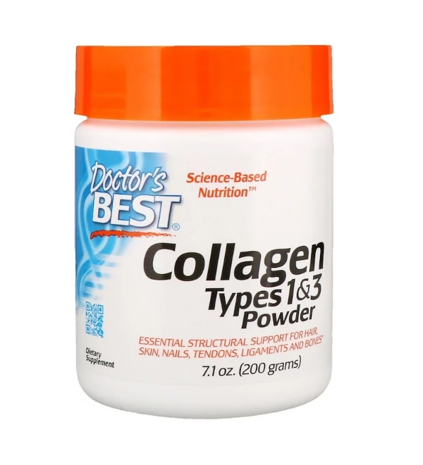 Doctor's Best Pure Collagen Types 1 and 3 Powder 200 гр.