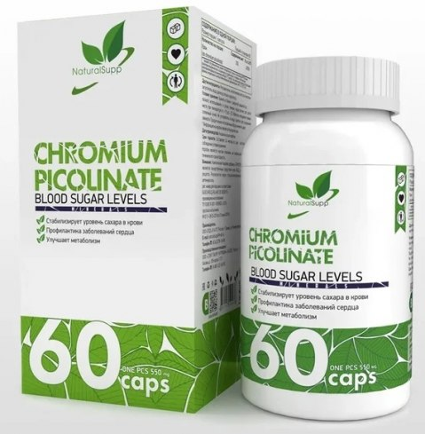 NaturalSupp Chromium Picolinate 60 капсул