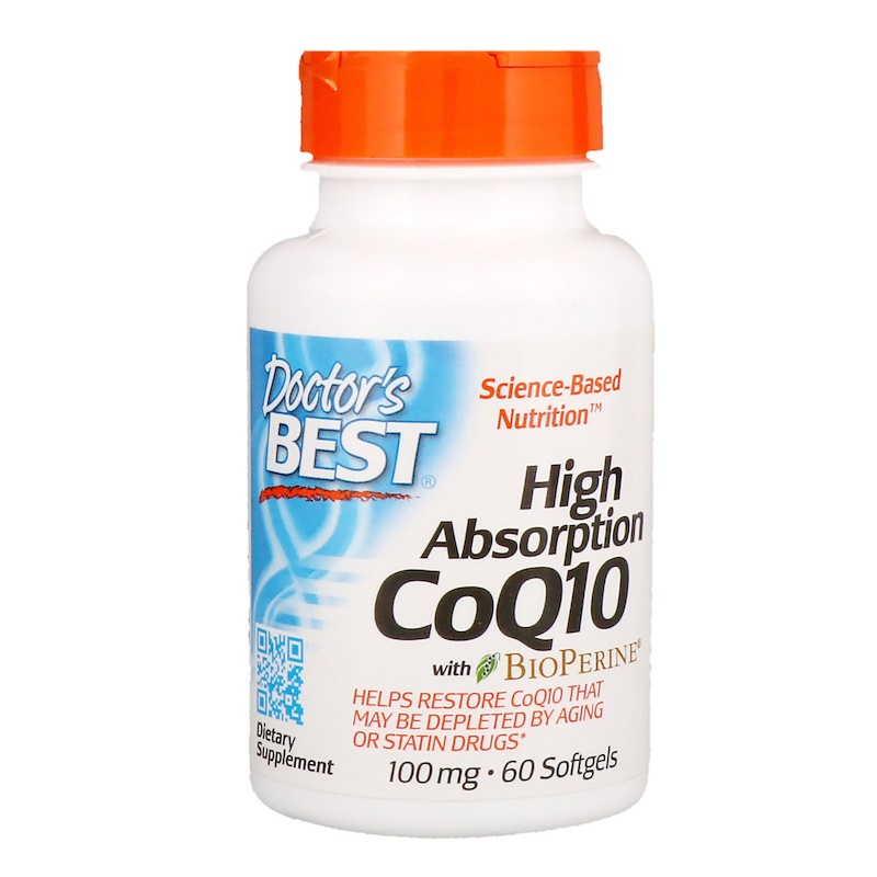Doctor's Best CoQ10 with BioPerine 100мг 60 капсул
