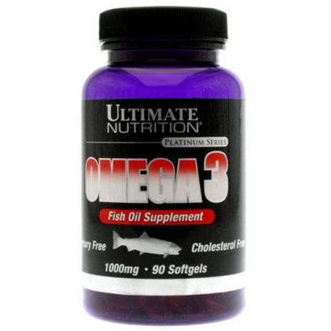 Ultimate Nutrition Omega 3 1000мг - 90 капс.