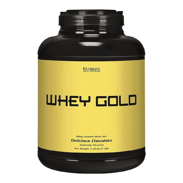 Ultimate Nutrition Whey Gold 2270 гр.