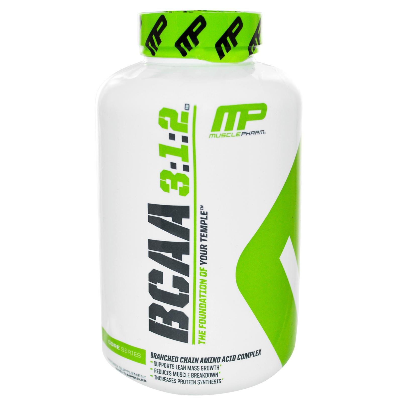 MusclePharm BCAA (3:1:2) 240 капс.