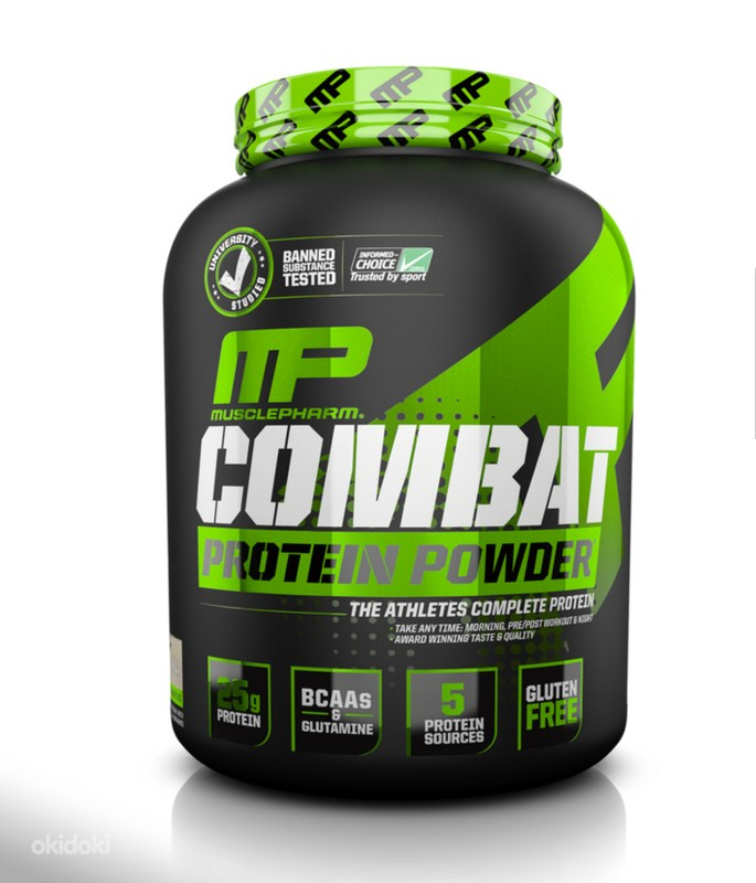 MusclePharm Combat Powder 1,8 кг. шоколад