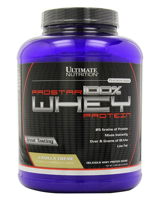 Ultimate Nutrition 100% Prostar Whey Protein 2390 гр.