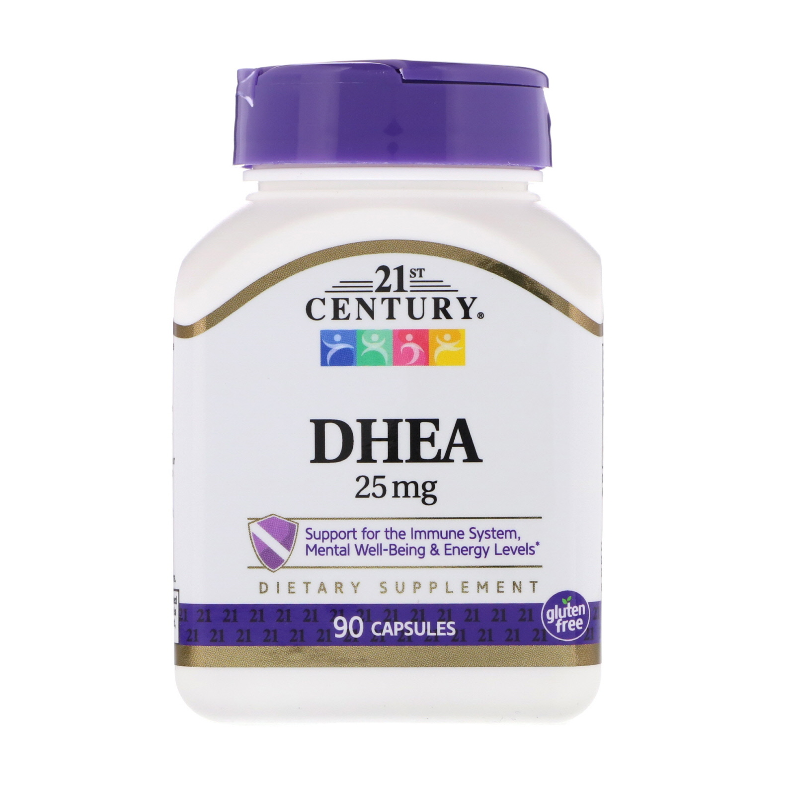 21st Century DHEA 25 мг 90 капсул