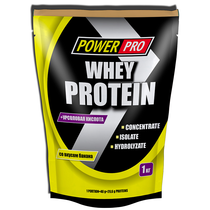 Power Pro Whey Protein 1000гр.