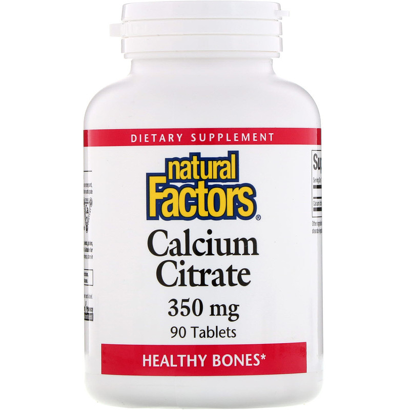 Natural Factors Calcium Citrate 350 мг 90 таблеток