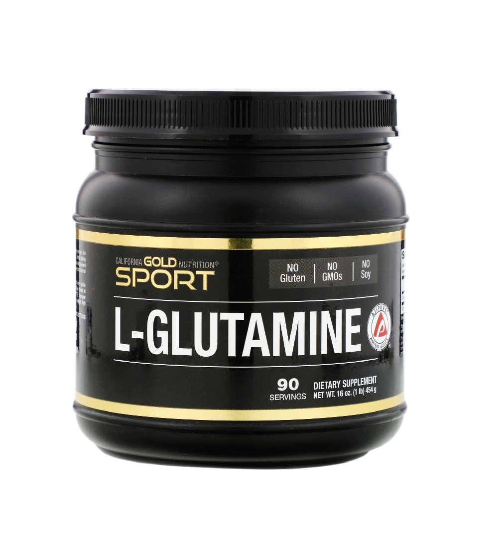 California Gold Nutrition L-Glutamine AjiPure 454 гр.