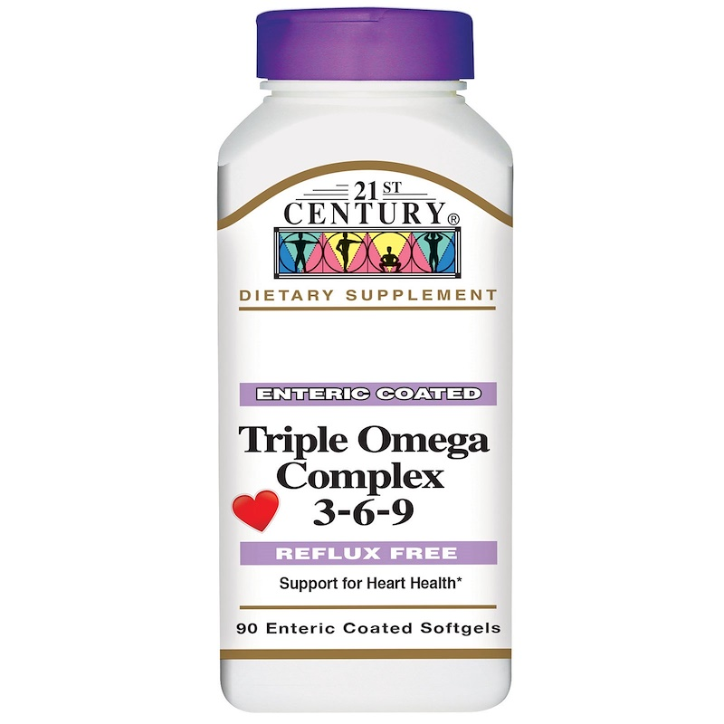 21st Century Triple Omega Complex 3-6-9 90 капсул