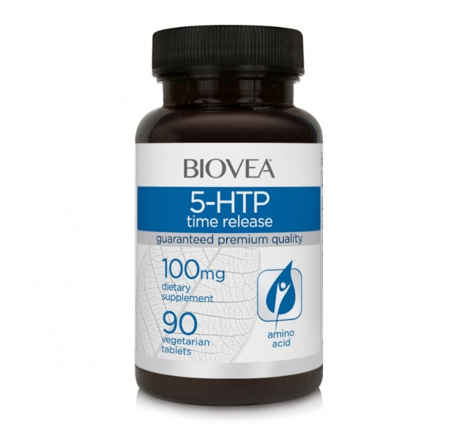 BIOVEA 5-HTP time release 100 мг 90 капсул