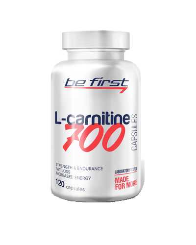 Be First L-carnitine 120 капсул по 700 мг.