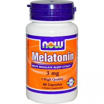 NOW Foods Melatonin 3 мг 60 капс