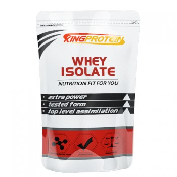 King Protein Whey 100% ISOLATE, 900гр