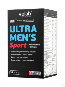 VP Laboratory Ultra Men's Multivitamin Formula 90 капсул
