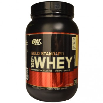 OPTIMUM NUTRITION Whey Protein Gold Standart 909гр.