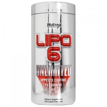 Nutrex Lipo 6 Unlimited 120 капс.