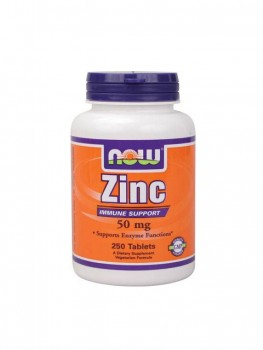 Now Zinc Gluconate 50мг, 100капс.