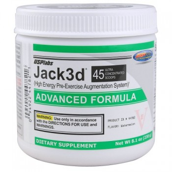 USPlabs Jack3d Advanced 230гр. (45 порц.)