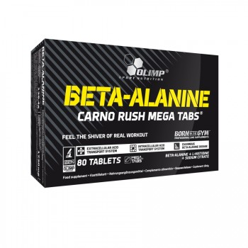 OLIMP Beta-Alanine Carno Rush Mega 80 таб.