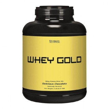 Ultimate Nutrition Whey Gold 2270 гр. ваниль