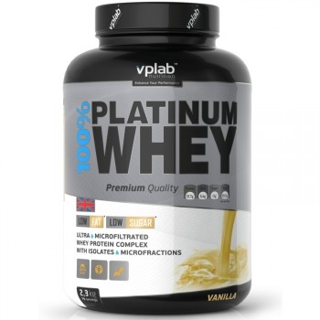 VP Laboratory 100% Platinum Whey 908гр.