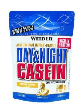 Weider Day & Night Casein 500гр. ваниль