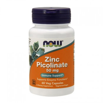 Now Zinc Picolinate 50мг, 60капс.