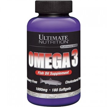 Ultimate Nutrition Omega 3 1000мг - 180 капс.