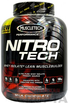 Muscle Tech Nitro-Tech Performance Series 907 гр. ваниль