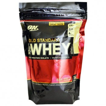 OPTIMUM NUTRITION Whey Protein Gold Standart 454гр.
