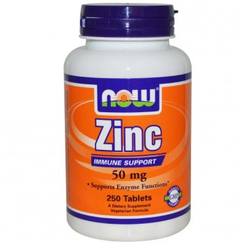 Now Zinc Gluconate 50мг, 250капс.