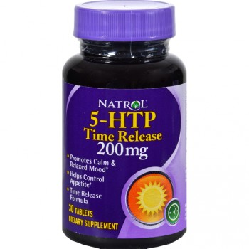 Natrol 5-HTP Time Release 200 mg (30 табл.)