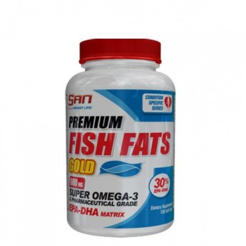 SAN Premium Fish Fats Gold 120 капсул