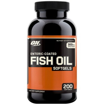 Optimum Nutrition Enteric-Coated Fish Oil 100 softgels