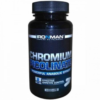IronMan Chromium Picolinate (Пиколинат Хрома) 60 капсул