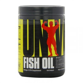Universal Nutrition Fish Oil 100 капсул