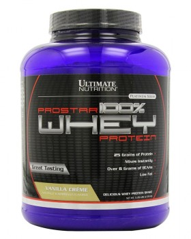 Ultimate Nutrition 100% Prostar Whey Protein 2270 гр.