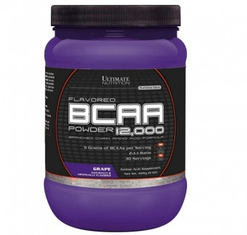 Ultimate Nutrition Flavored BCAA 12,000 - 228 гр.