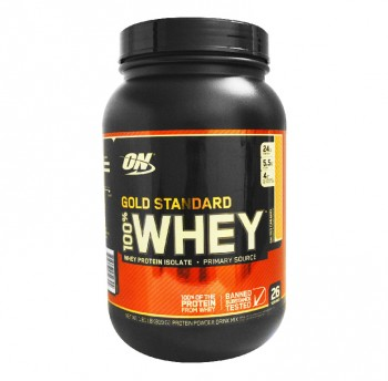 OPTIMUM NUTRITION Whey Protein Gold Standart 819гр.