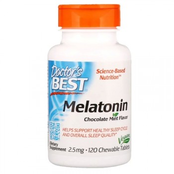 Doctor's Best Quick Melt Melatonin 2.5 мг. 120 табл.