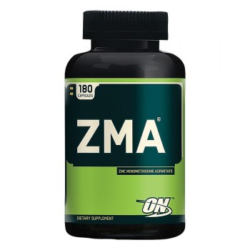 Optimum Nutrition ZMA - Zinc Magnesium Aspartate (180капс.)