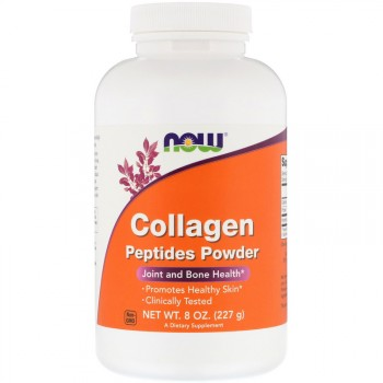 Now Foods Collagen Peptides Powder (порошок пептидов коллагена) (227 гр.)
