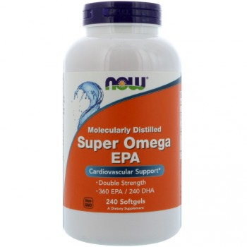 Now Foods Super Omega EPA Molecularly Distilled 240 капсул