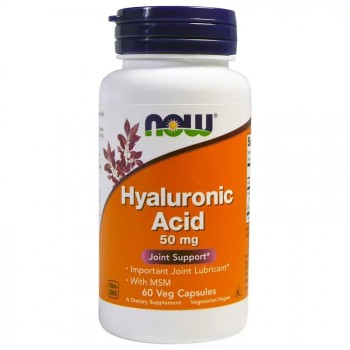 NOW Hyaluronic Acid 50 мг 60 вег. капс.