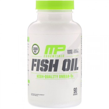 MusclePharm Essentials Fish Oil 90 капсул (EPA 400мг., DHA 300мг.)