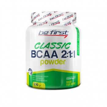 Be First BCAA 2:1:1 CLASSIC powder 200 грамм