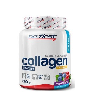 Be First Collagen + vitamin C 200 грамм