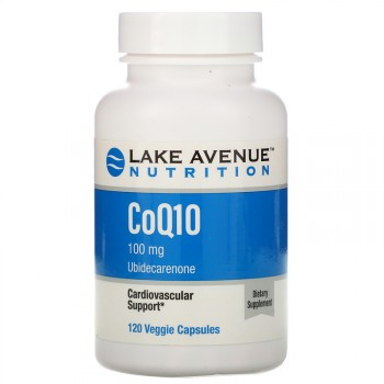 Lake Avenue Nutrition CoQ10 100 мг 120 вег. капс.