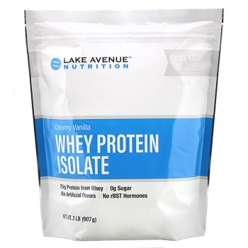 Lake Avenue Nutrition Whey Protein Isolate 907 гр