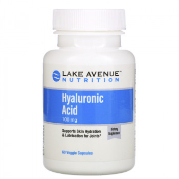 Lake Avenue Nutrition Hyaluronic Acid 100 мг 60 вег. капс.